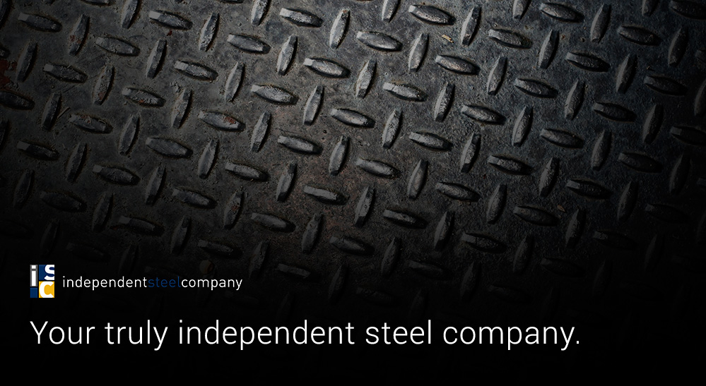 Your truly independent steel company.