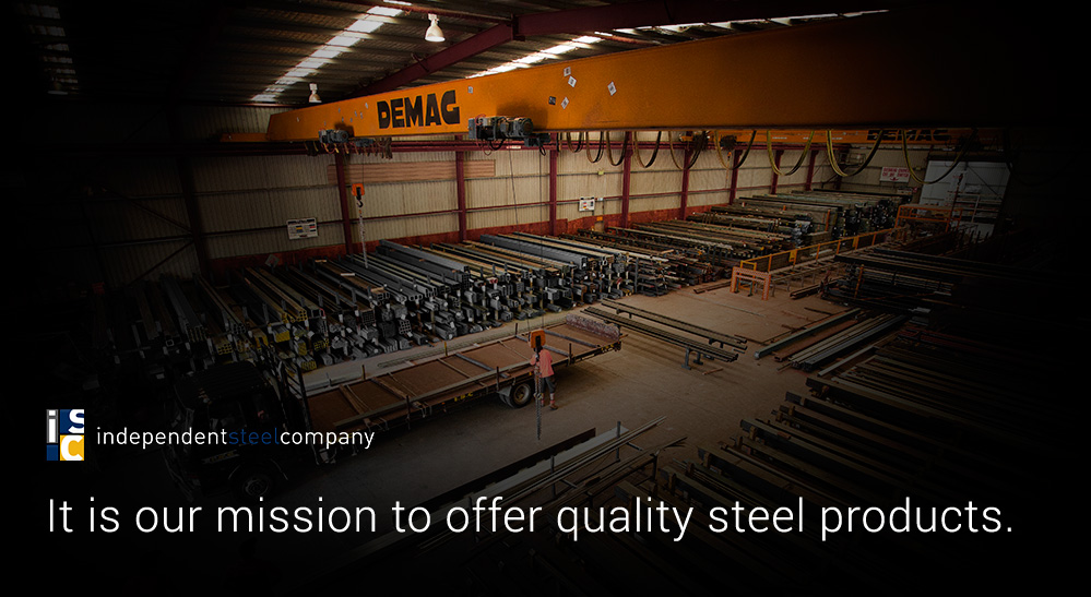 It is our mission to offer quality steel products.